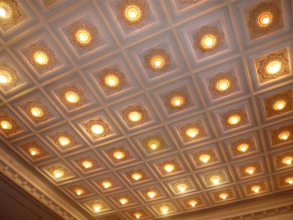Reception ceiling