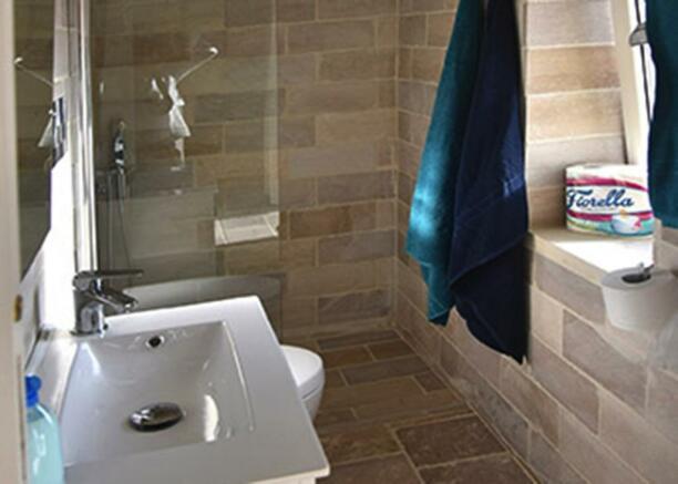 Annexe trullo bathroom