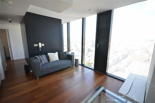 Studio Apartment To Rent In Beetham Tower Manchester City Centre