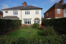 3 bedroom semi detached property to rent in Sketchley Road...