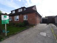 3 bed semi detached property in Elizabeth Drive, Oadby...