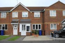 Terraced home for sale in Danbury Crescent...