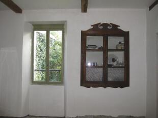 Cupboard, dining rm