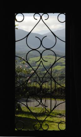 View, front door