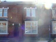 Terraced home in Harold Road, Edgbaston...