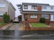 semi detached home in Muirhead, Stonehouse...
