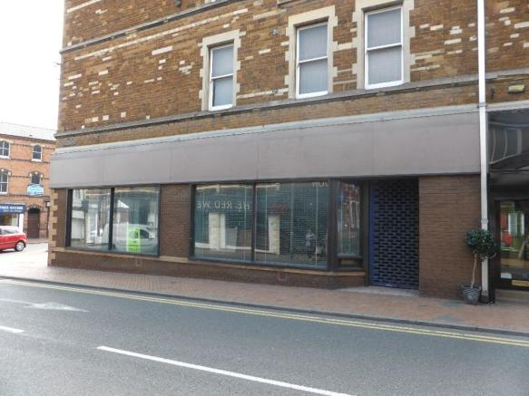 High Street frontage