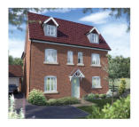 5 bed new home for sale in Chiltern Road Stanion...