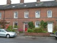 Terraced property in Cheshire Street...