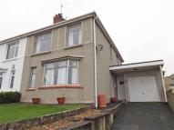 3 bed semi detached home for sale in Colby Road, Burry Port...