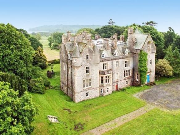 20 bedroom house. Front Aspect 20 bedroom country house for sale in Auchencairn  CASTLE DOUGLAS