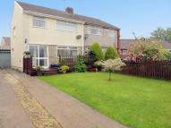 3 bed semi detached house in Hadrians Close...