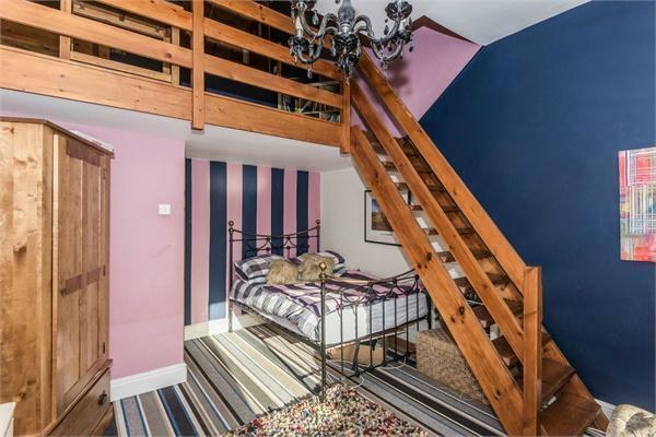 Split Level Bedroom