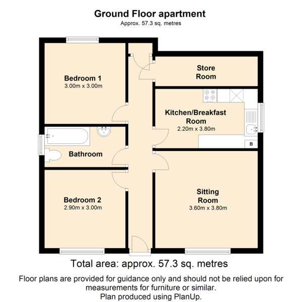 Ground Floor apartment