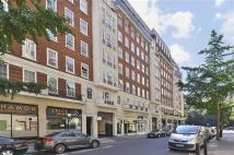 Apartment to rent in Glentworth Street, London