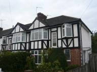 semi detached home to rent in Barnfield Avenue...