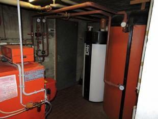 Heating area