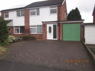 3 bed semi detached house in Shipton Drive, Uttoxeter...