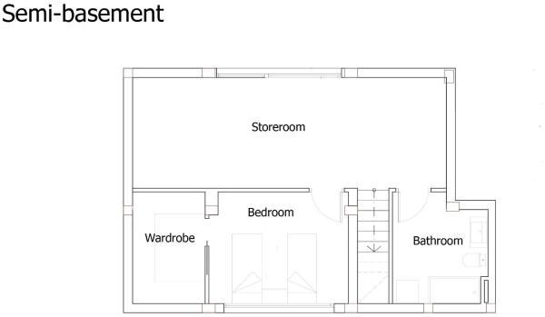 Semi-basement