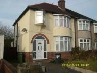 Pendeford Avenue semi detached property to rent