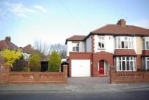 4 bed semi detached property in Grange Avenue...