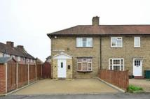 3 bed End of Terrace house in Buckland Walk, Morden...