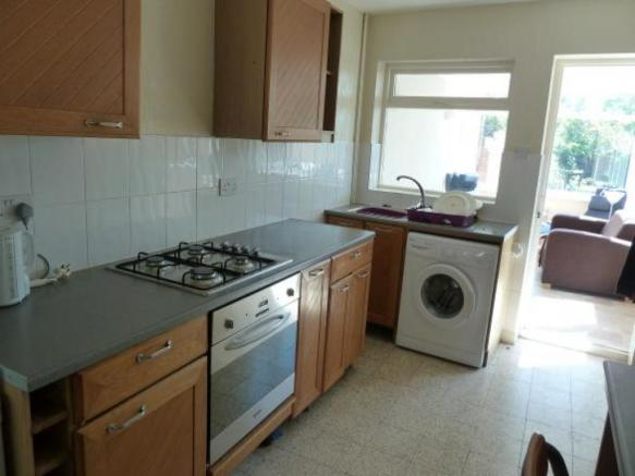 Kitchen towards Garden room