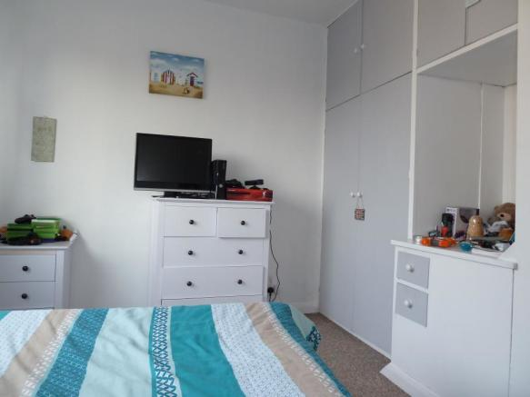 Large Bedroom with built-in wardrobes