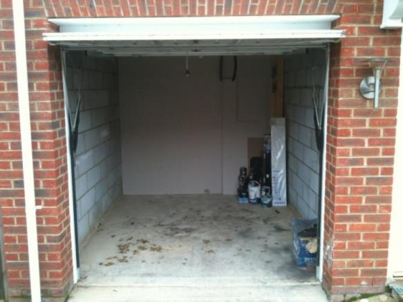 Garage (only suitable for a very short car)