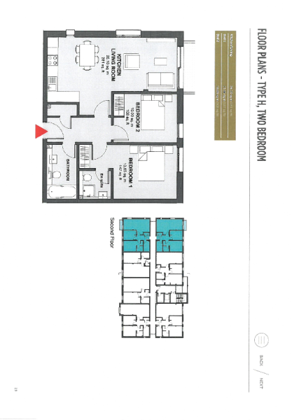 Layout Apartment 20