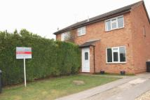 semi detached house in Horton Close, Alcester
