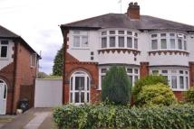 3 bed semi detached home to rent in Welford Road, Knighton...