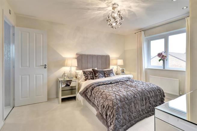 Image depicts a typical 3 bedroom Taylor Wimpey home