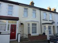 Terraced house in Belmont Road, Gillingham...