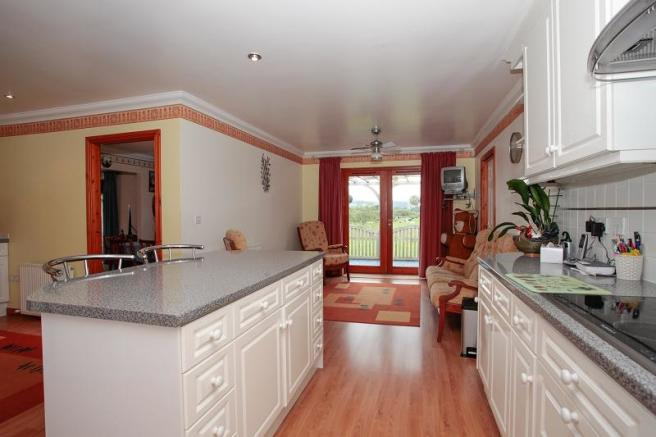 Open Plan Kitchen and Family room