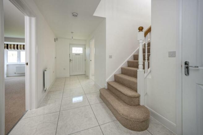 The Wroxham: Hallway