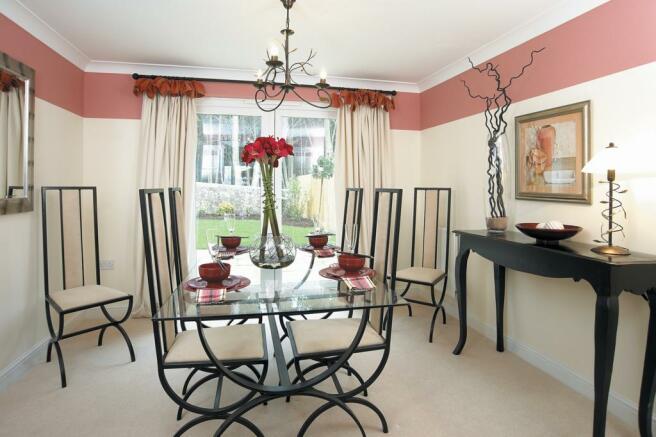Staunton dining room