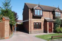 2 bedroom semi detached house in Lodge Drive, Branston...
