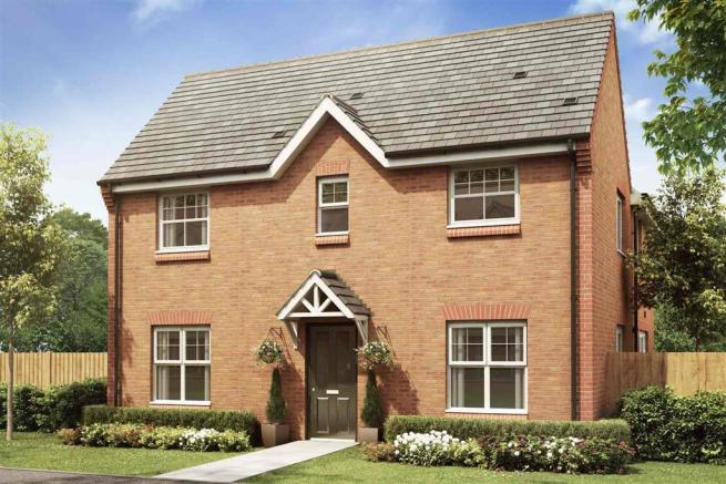Artist impression of the Milldale at Stamford Gate