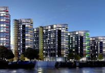 3 bedroom Apartment in Riverlight Quay...