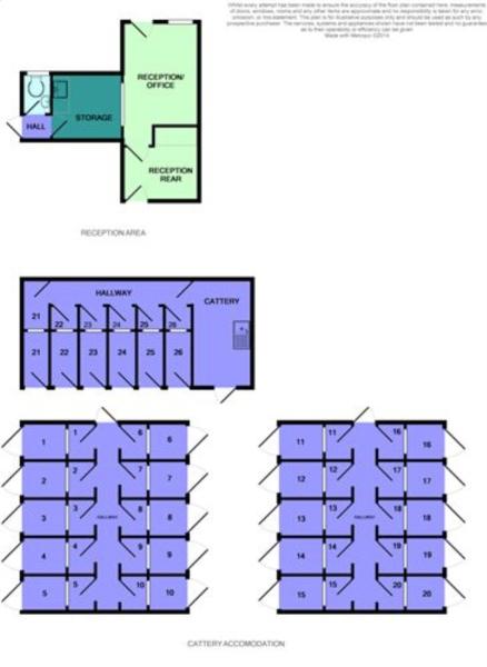 Cattery Floor Plan