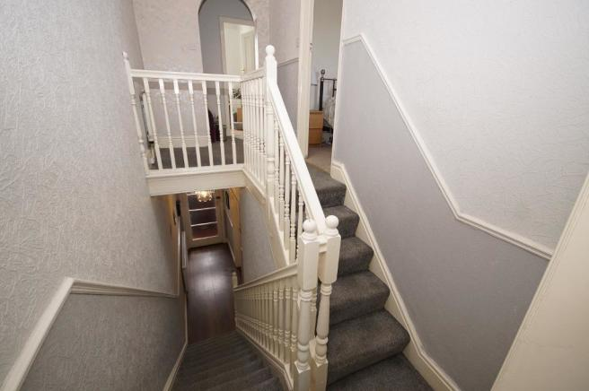 Stairs & Hallway