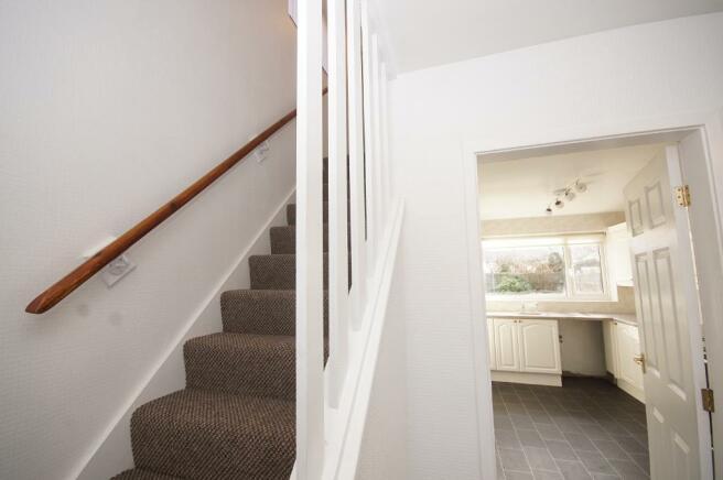 Stairs & Kitchen