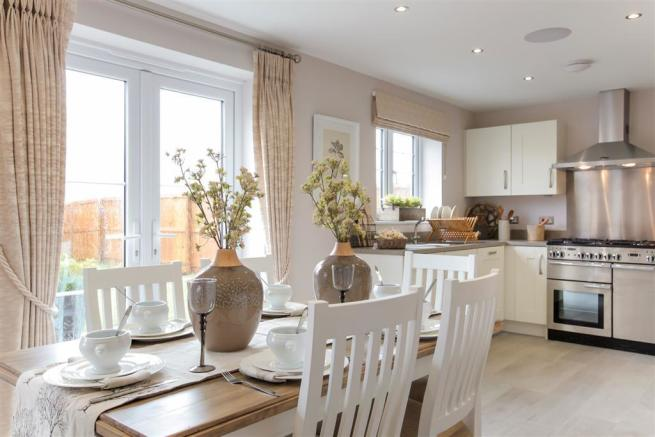 Image from Downham showhome at Morley Carr Farm