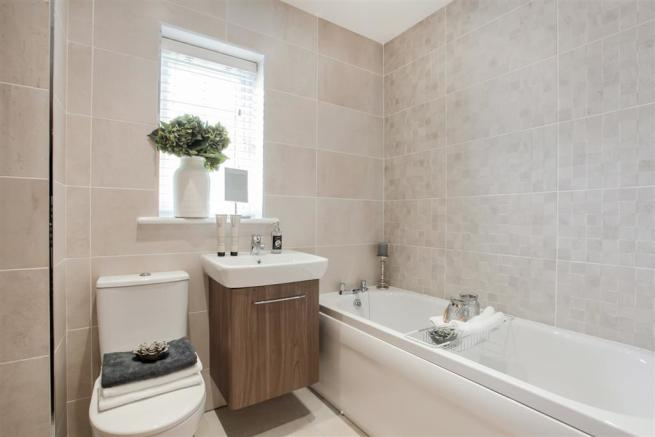 Actual Image from Whitford showhome at Fox Covert