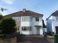 3 bed semi detached home to rent in LULWORTH DRIVE PINNER