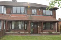 Horton Avenue semi detached property to rent