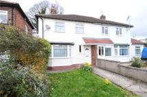 2 bed semi detached property in Milner Road, Heswall...