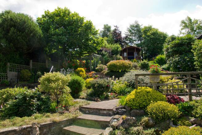 Garden leading to...