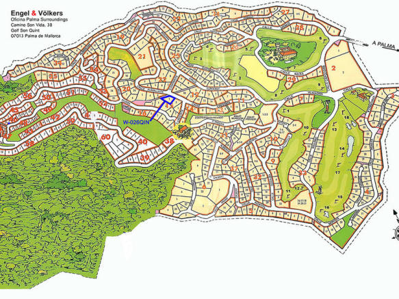 Large, quietly situated plot in Son Vida with building licence in Son Vida - Palma de Majorca